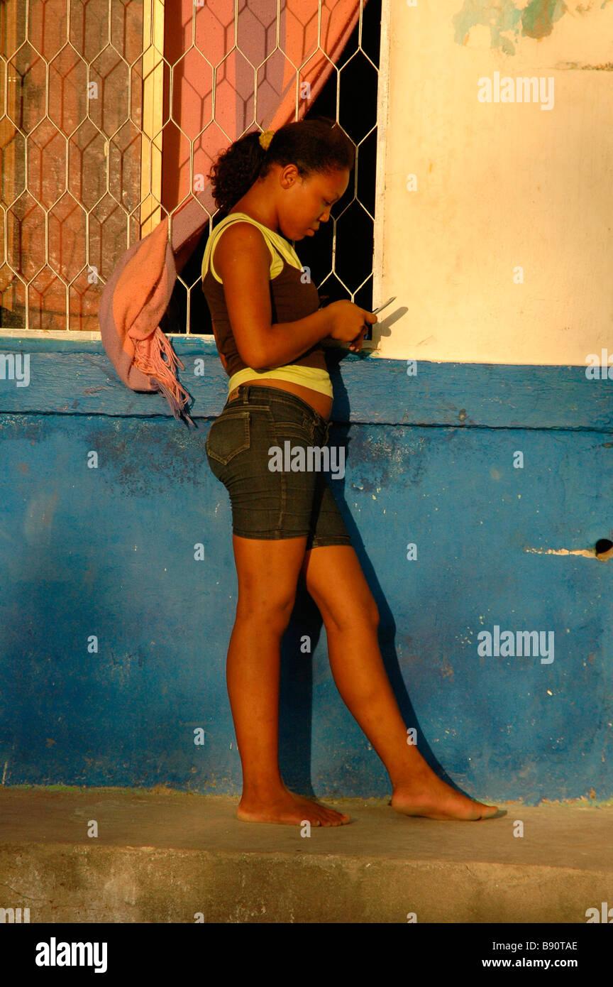 Teenage black girls