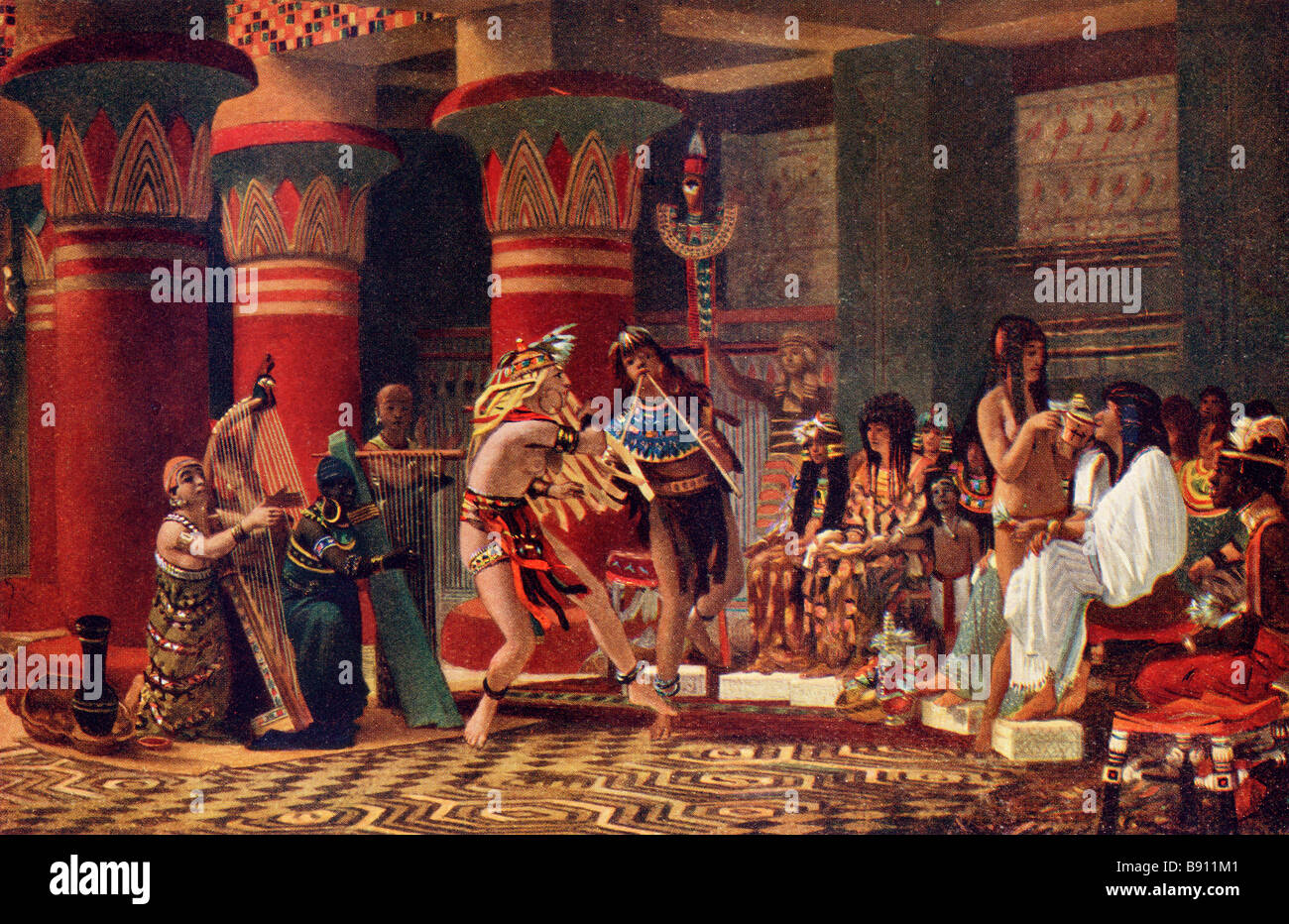 Ancient Egypt Dancing Stock Photos & Ancient Egypt Dancing Stock ...