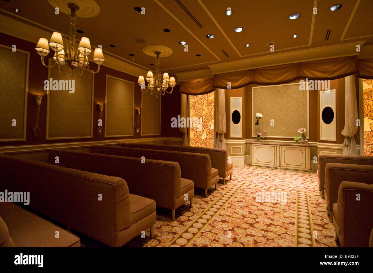 Lilac salon wedding chapel located in the wynn hotel las for Wedding salon