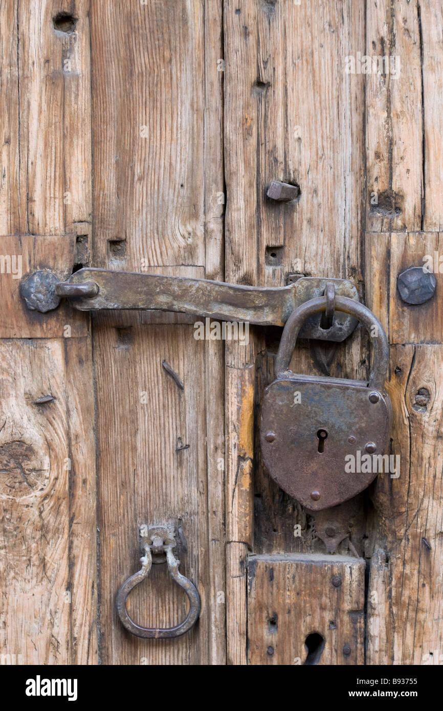 Old Padlocked Door in San Miguel de Allende Mexico & Old Padlocked Door in San Miguel de Allende Mexico Stock Photo ...