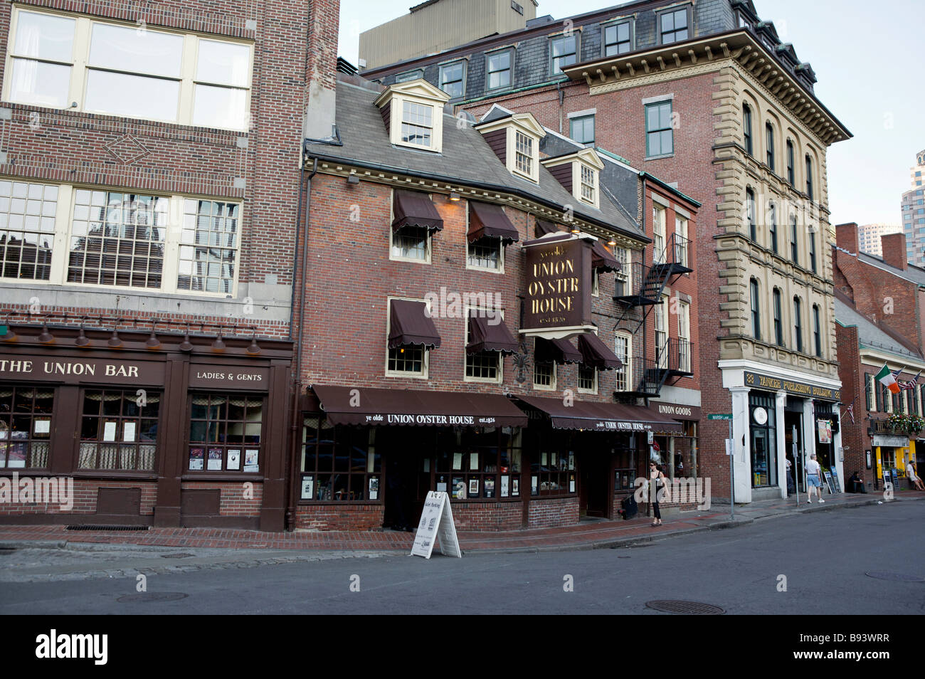 Us Boston Union Oyster House The Oldest Restaurant In The