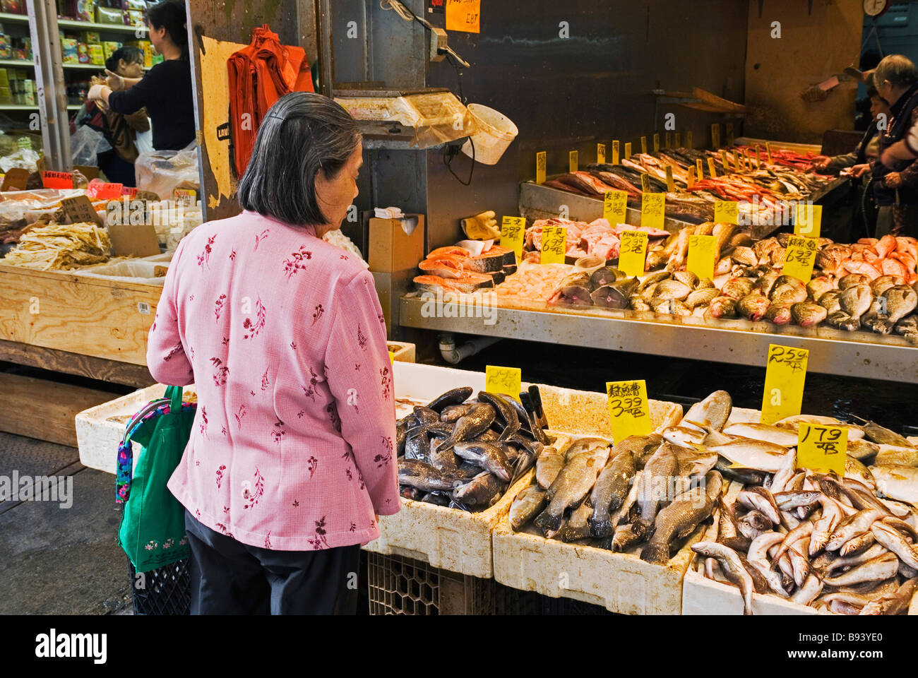 Fish market chinatown manhattan new york city new york usa for Nyc fish market
