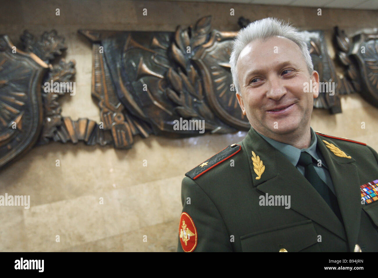 Major General Anatoly Khryachkov The Chief Recruitment Officer In ...