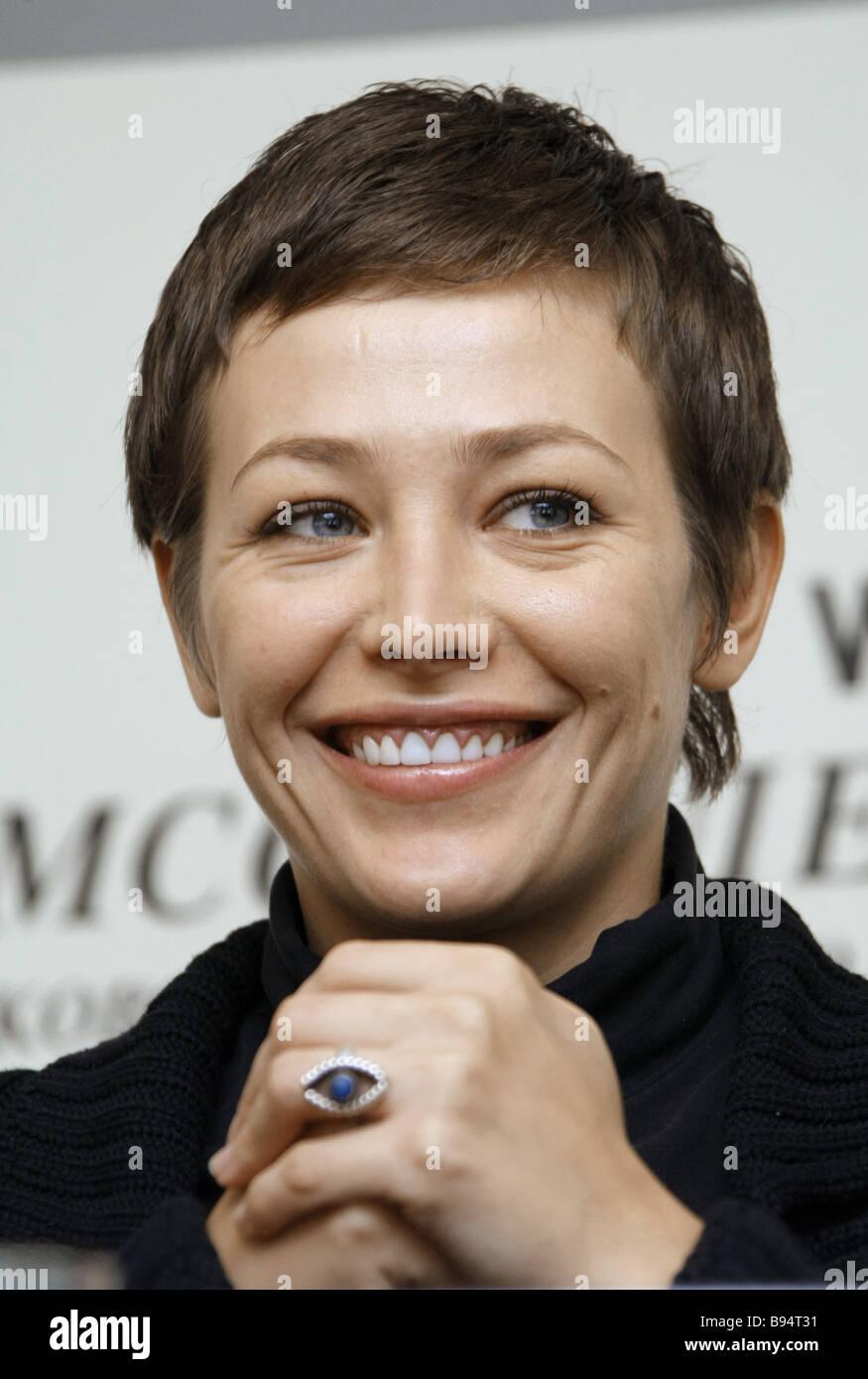 Actress Yekaterina Volkova