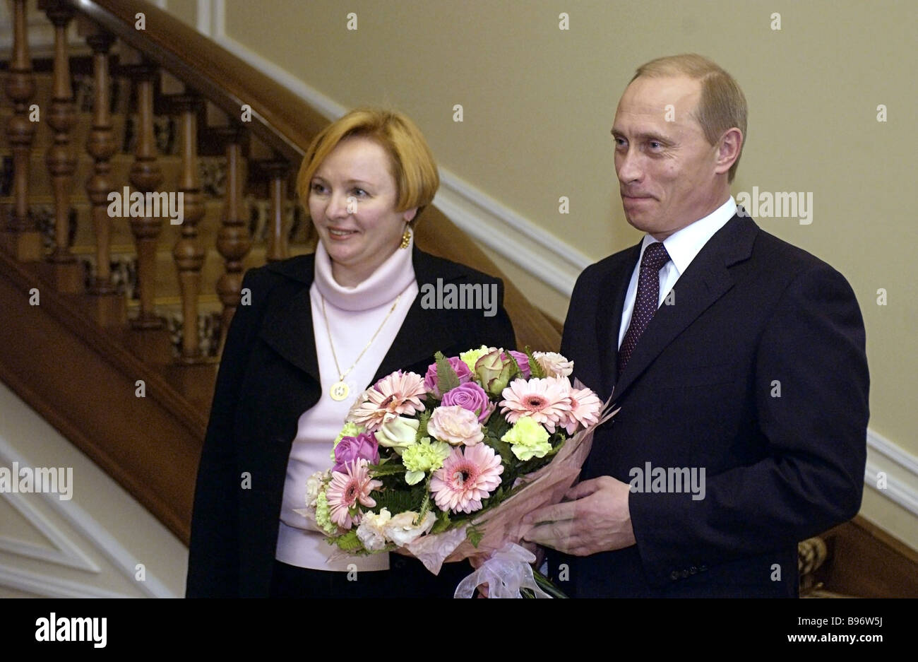 Wife Met Russian President 28