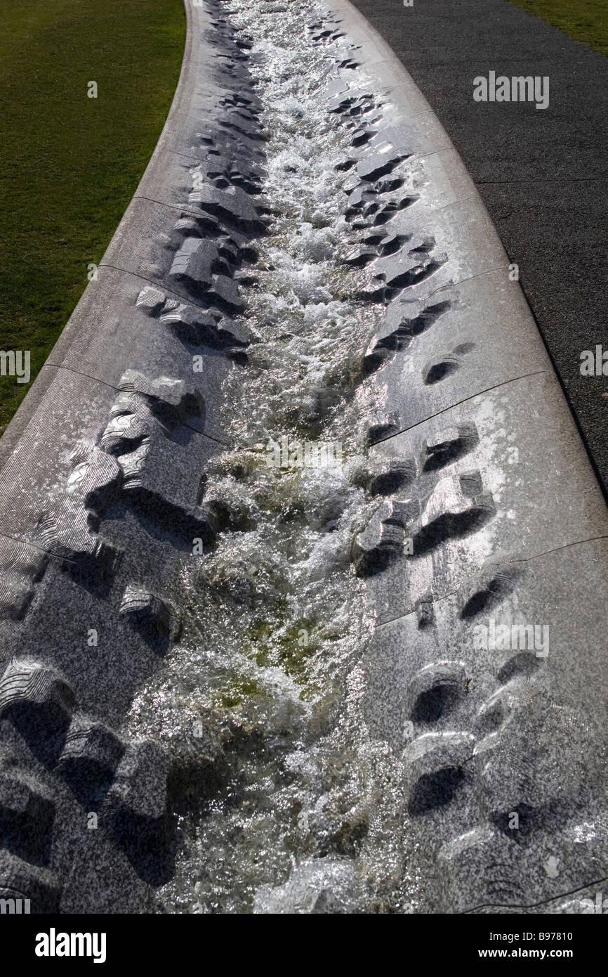 Water fountains hyde park - Diana Princess Of Wales Memorial Fountain Hyde Park London Uk