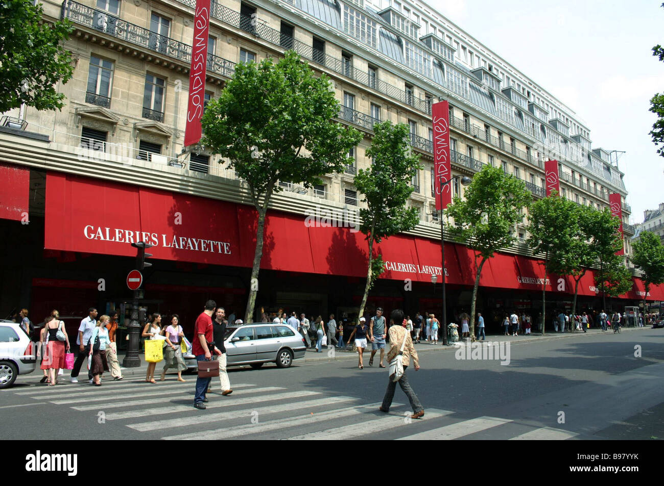 paris the galeries lafayette in boulevard haussmann is one. Black Bedroom Furniture Sets. Home Design Ideas