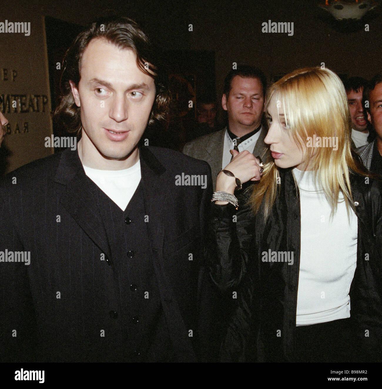 Pop singer kristina orbakaite right and her husband ruslan baisarov
