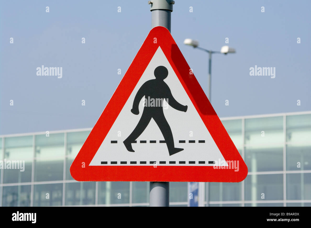 Caution Pedestrians Crossing Road Sign uk Road traffic ...