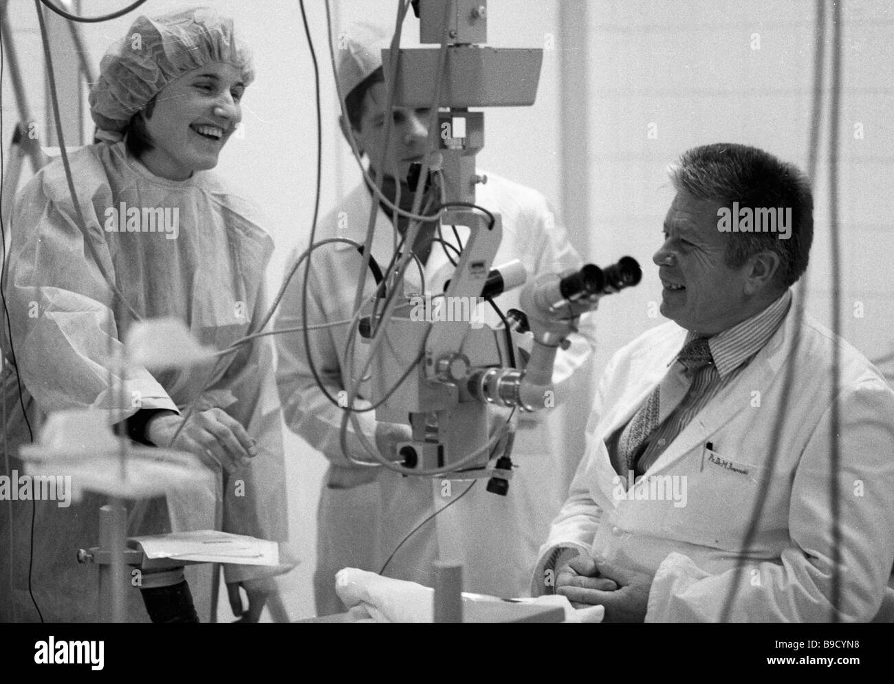 French inventor Martin Kempf left showing a voice controlled ...