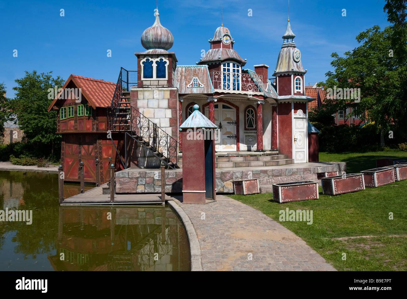 Denmark Odense H C Andersen Hus museum theatre Stock Photo, Royalty Free Image: 23055728 - Alamy