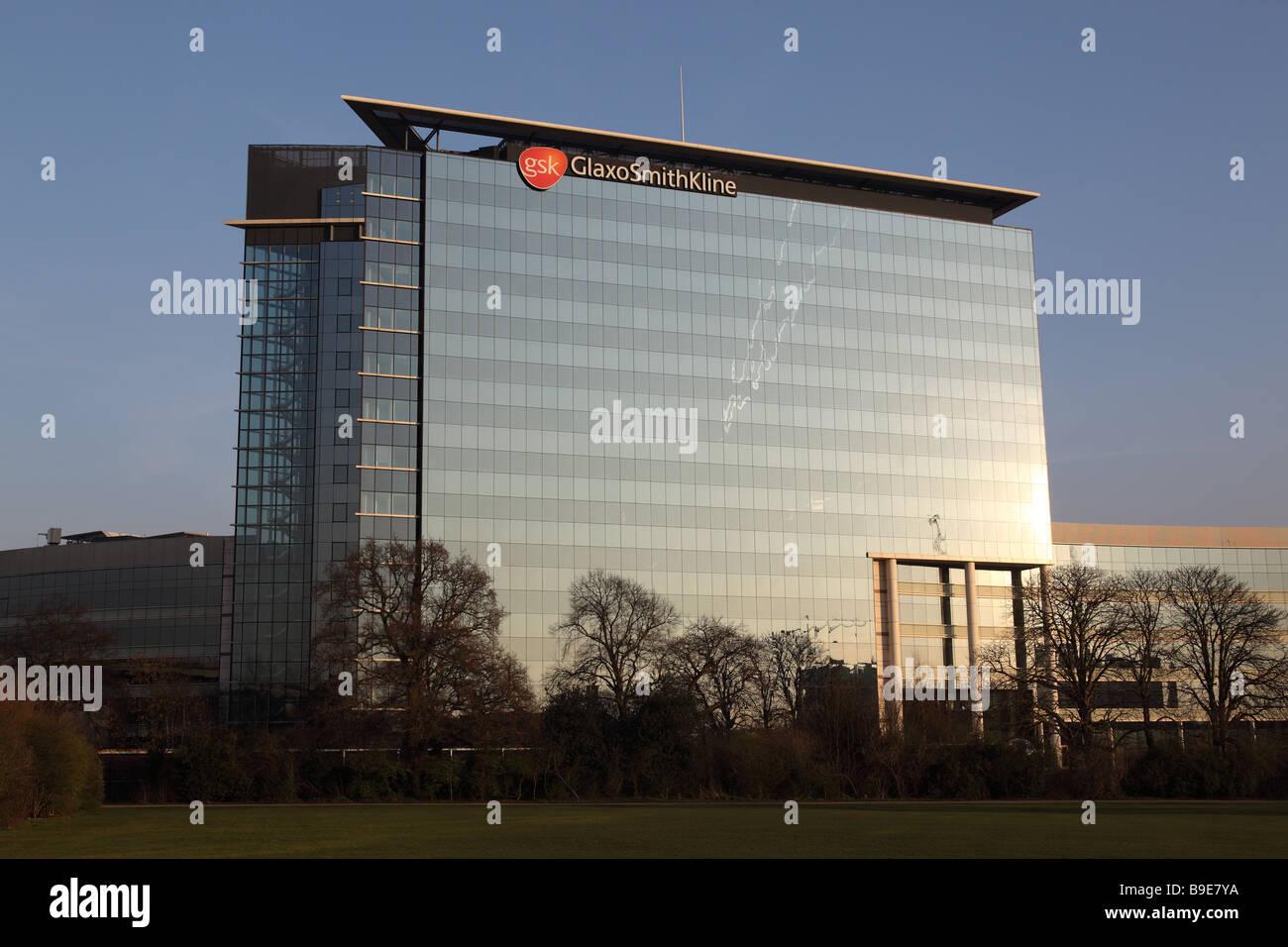 Gsk building in brentford london uk stock photo 23055854 alamy gsk building in brentford london uk biocorpaavc Gallery