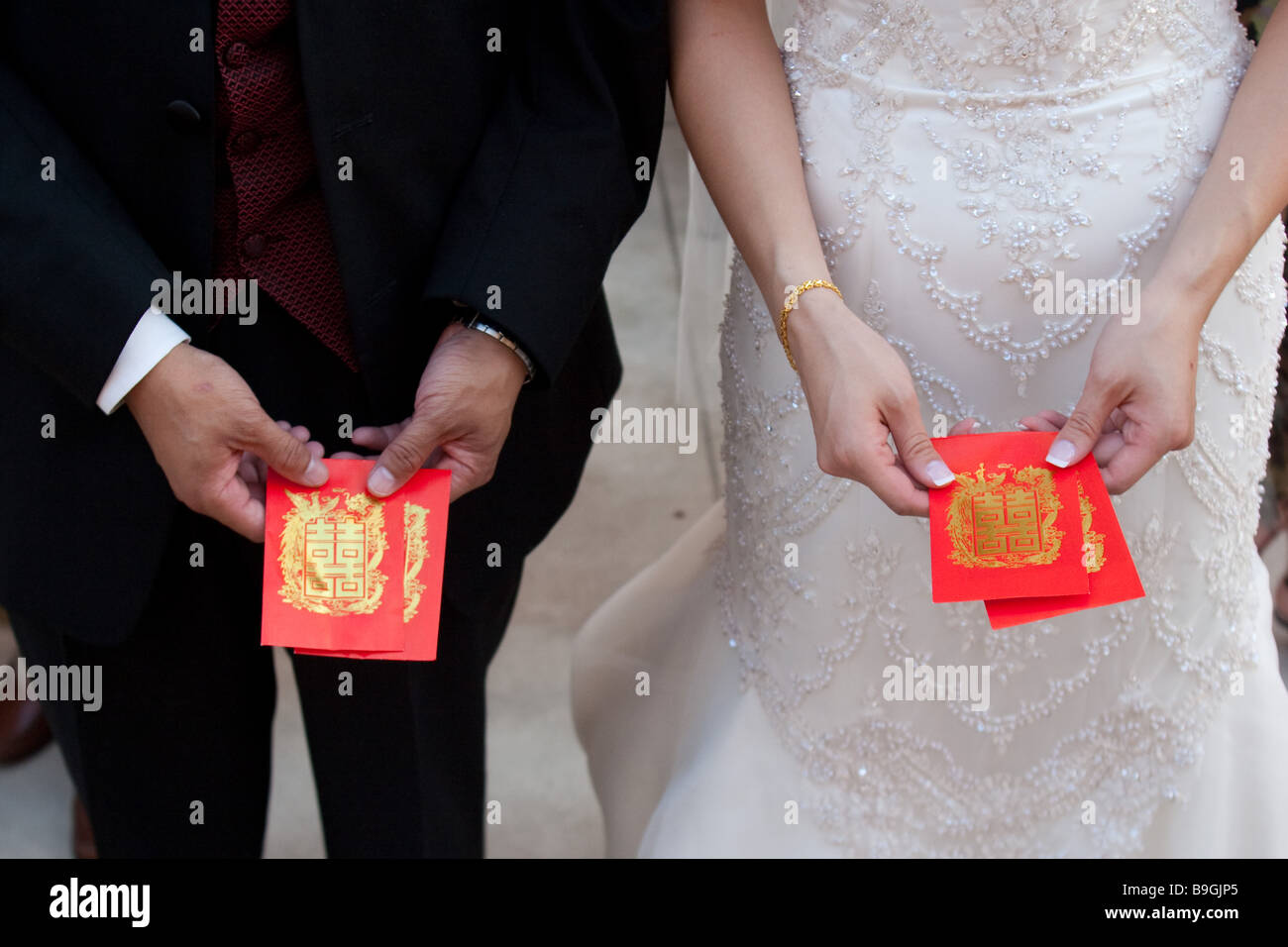 Traditional American Wedding Gifts Choice Image Asian Couple Receiving Of Money