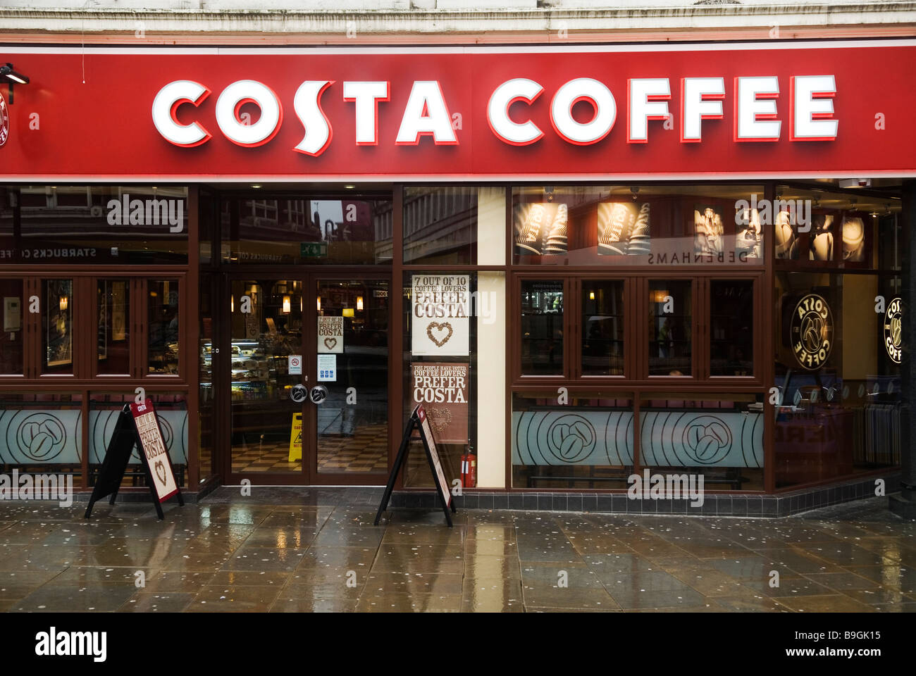 Coffee Shops Manchester City Centre