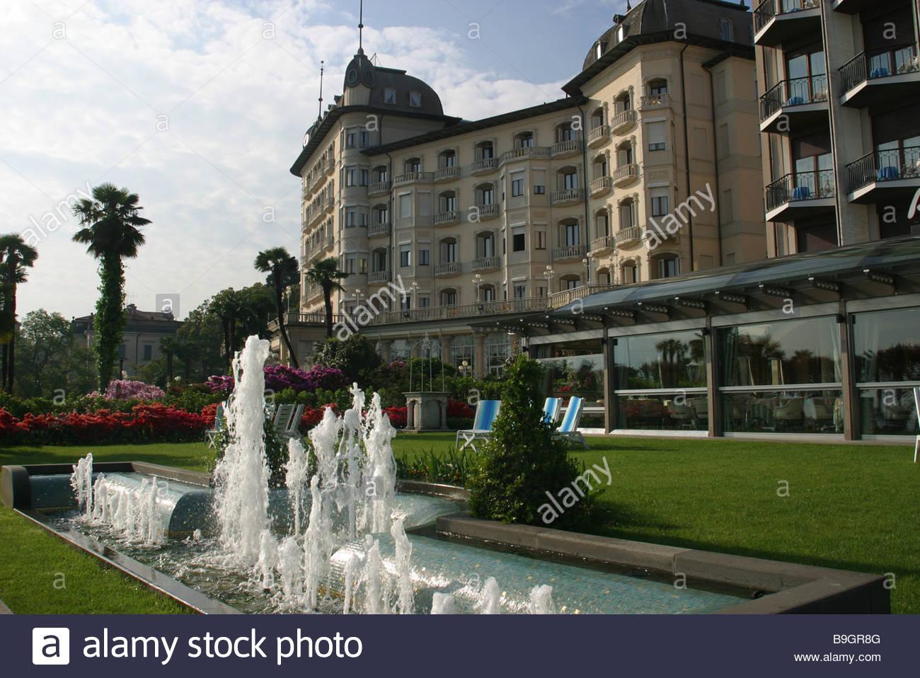 Italy Lago Maggiore Stresa Grand Hotel Regina Park