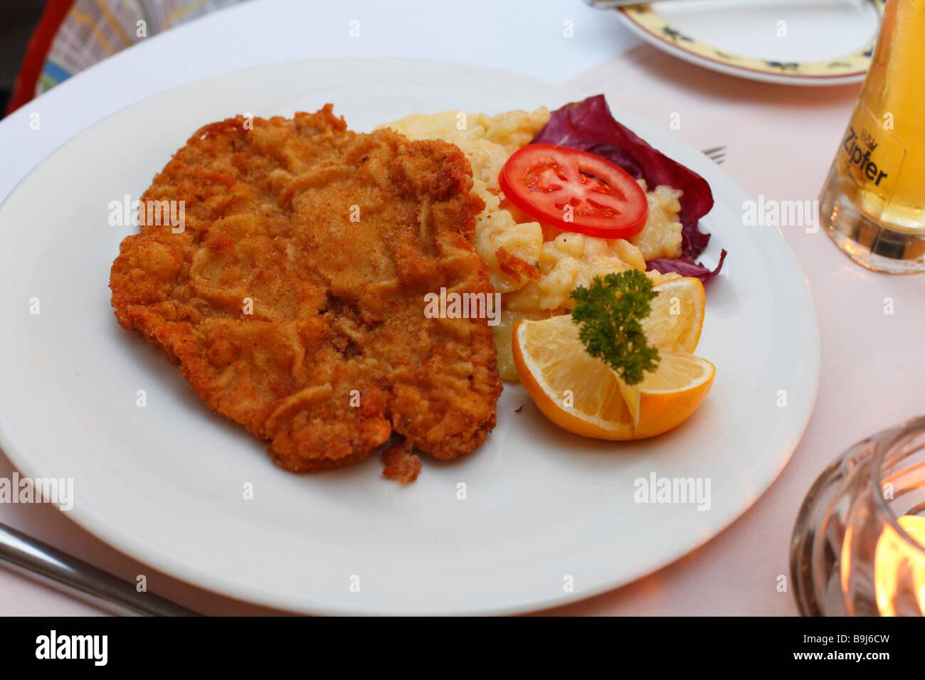 Austrian Wiener Schnitzel