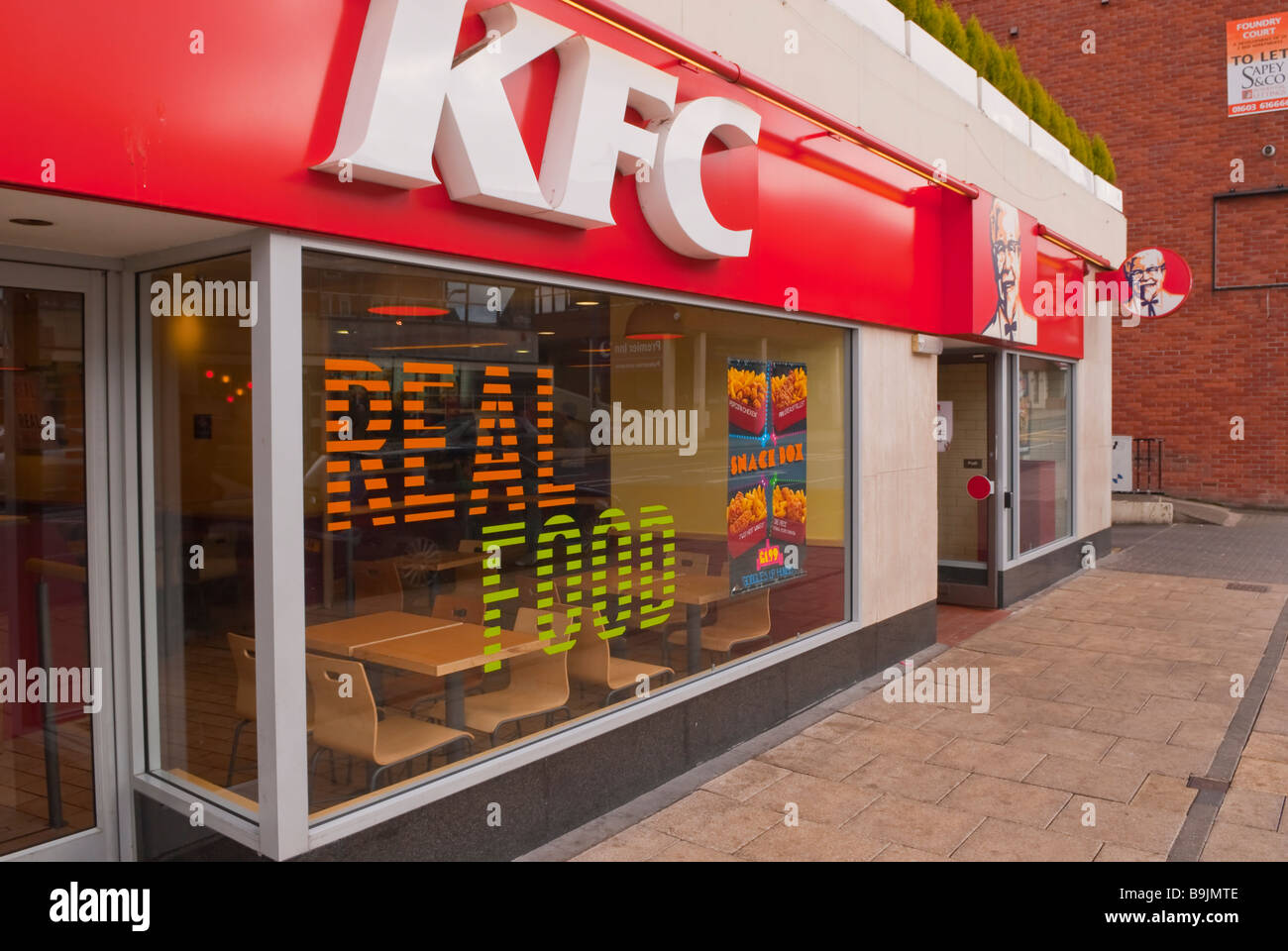 A kfc kentucky fried chicken shop store in norwich norfolk for British house store