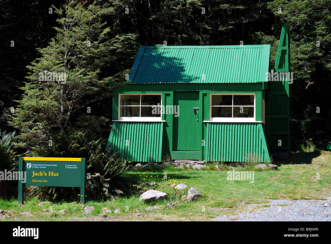 Jacks Hut Arthurs Pass National Park Canterbury South Island New Zealand