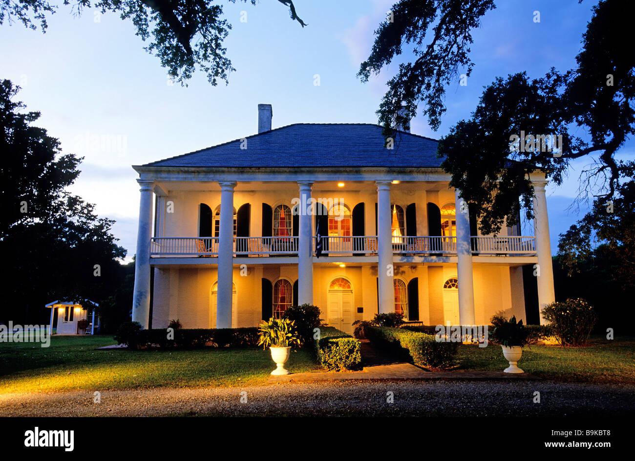 United States Louisiana Lafayette Chretien Point Plantation 1831