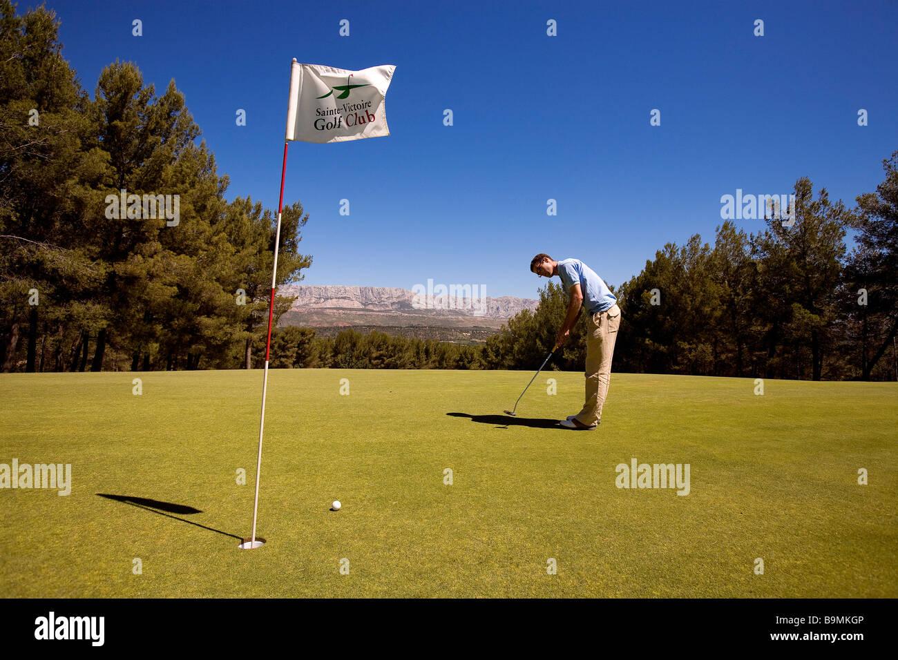 France bouches du rhone fuveau sainte victoire golf for Bouche rhone