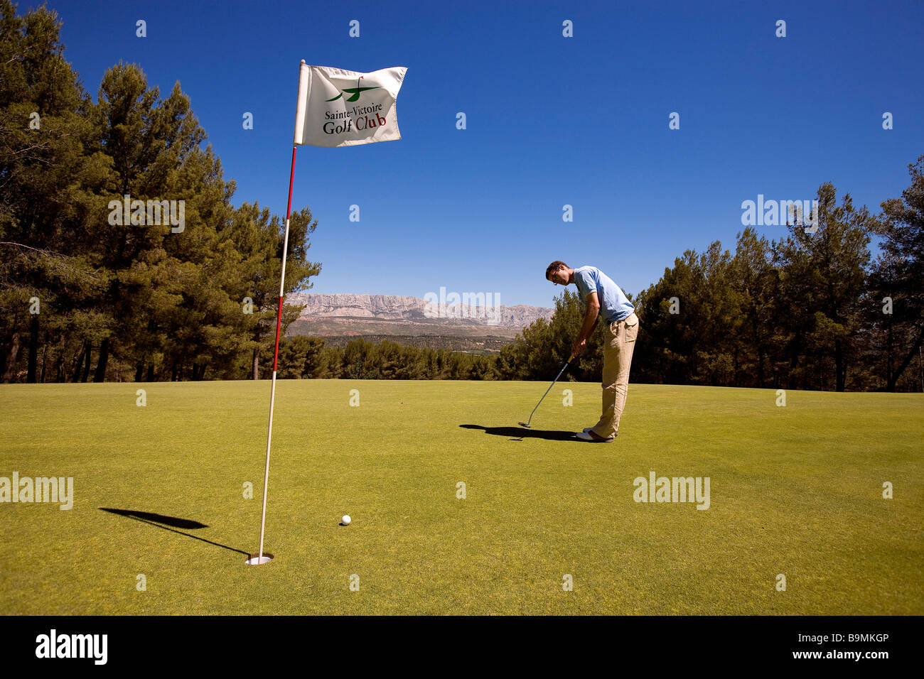 France bouches du rhone fuveau sainte victoire golf for Bouches rhone
