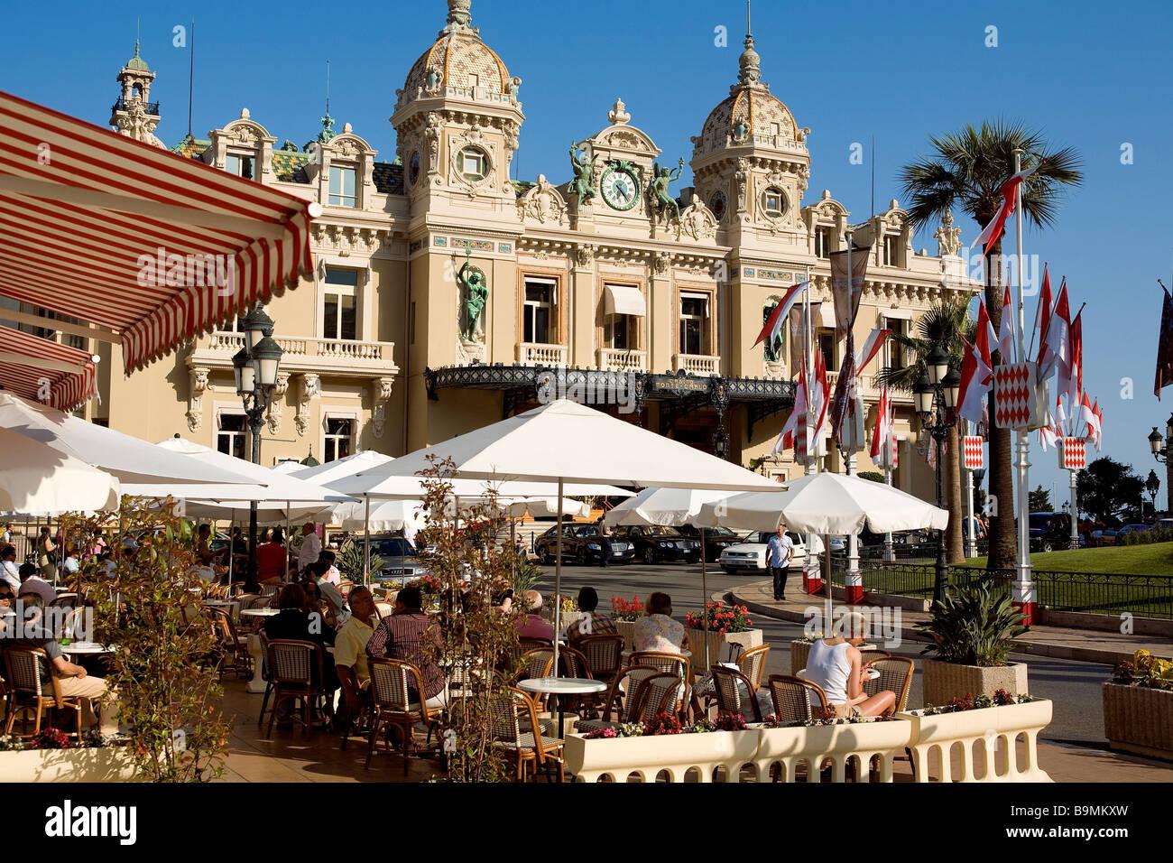 Cafe Paris Monaco
