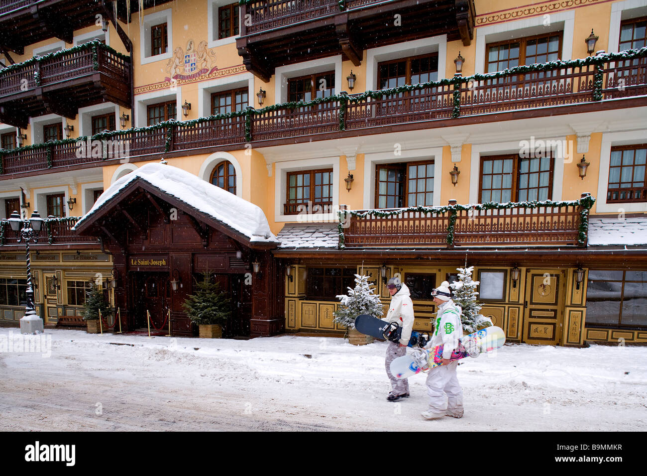 France savoie courchevel 1850 4 star hotel le saint joseph