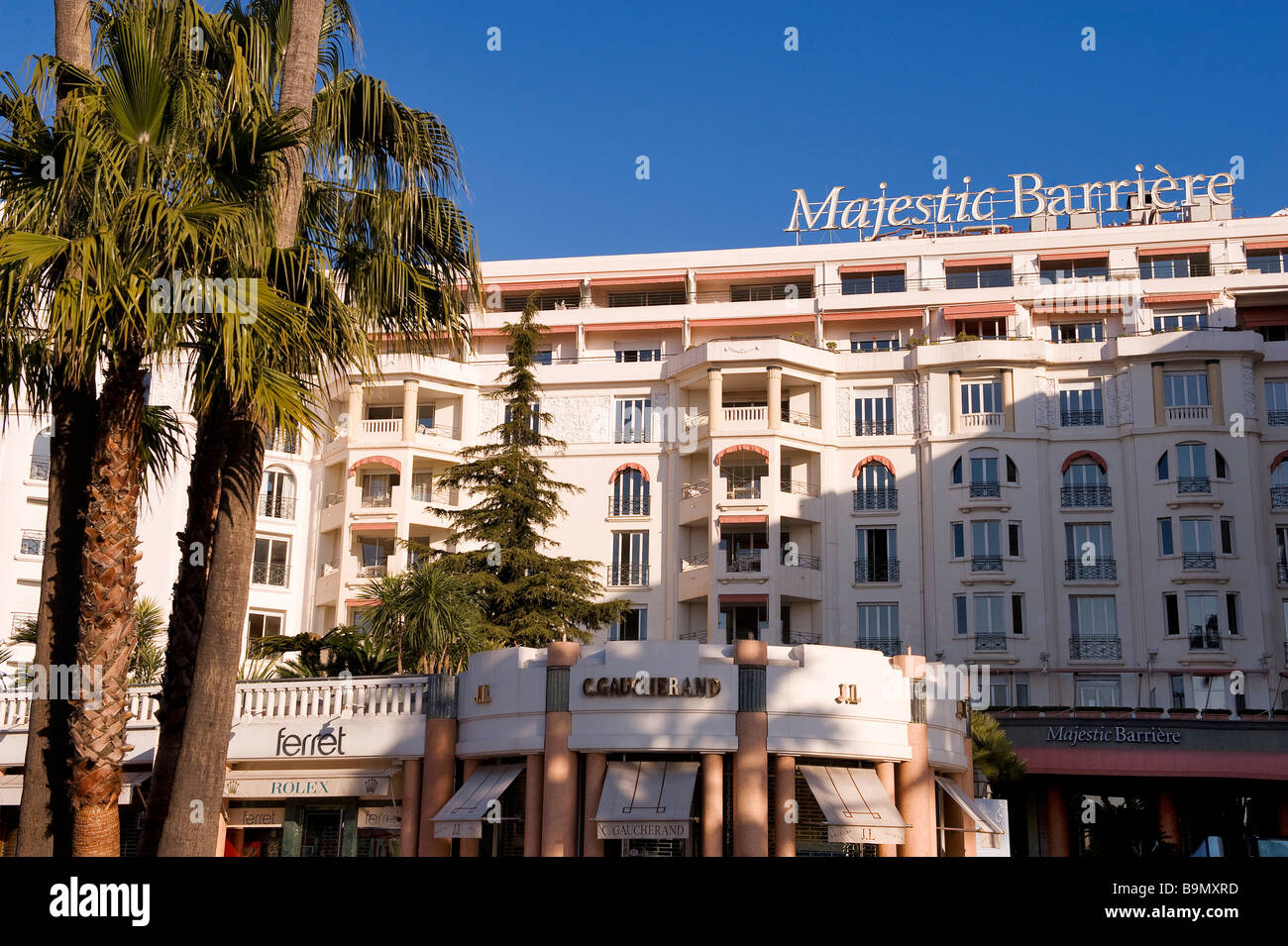 France alpes maritimes cannes 4 star hotel majestic barriere
