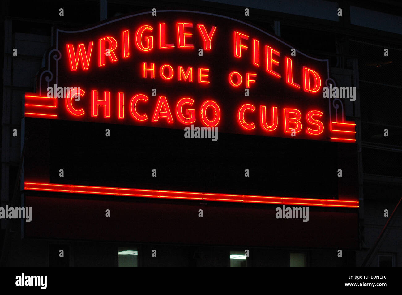 The wrigley field sign in chicago illinois stock photo 23214660 the wrigley field sign in chicago illinois buycottarizona Images