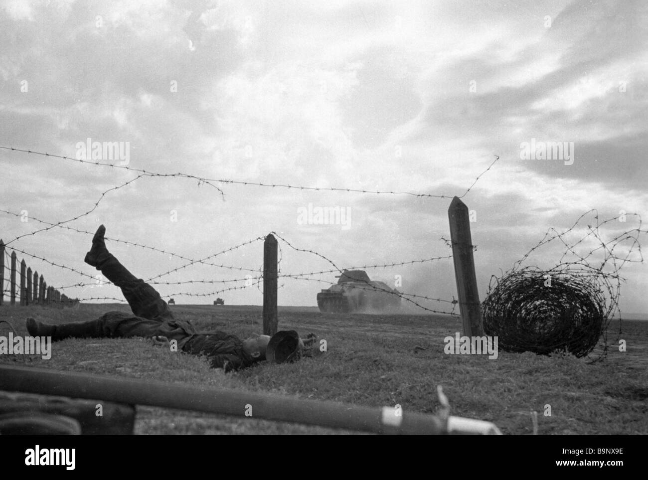 Barbed Wire Soldier Stock Photos & Barbed Wire Soldier Stock ...