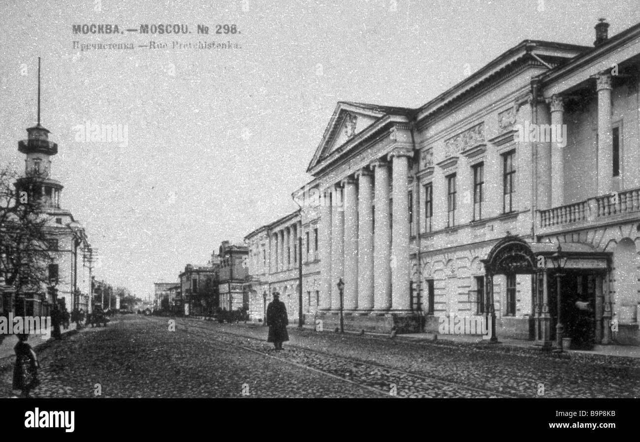 Dolgorukov Palace In Prechistenka Street In Moscow Today ...