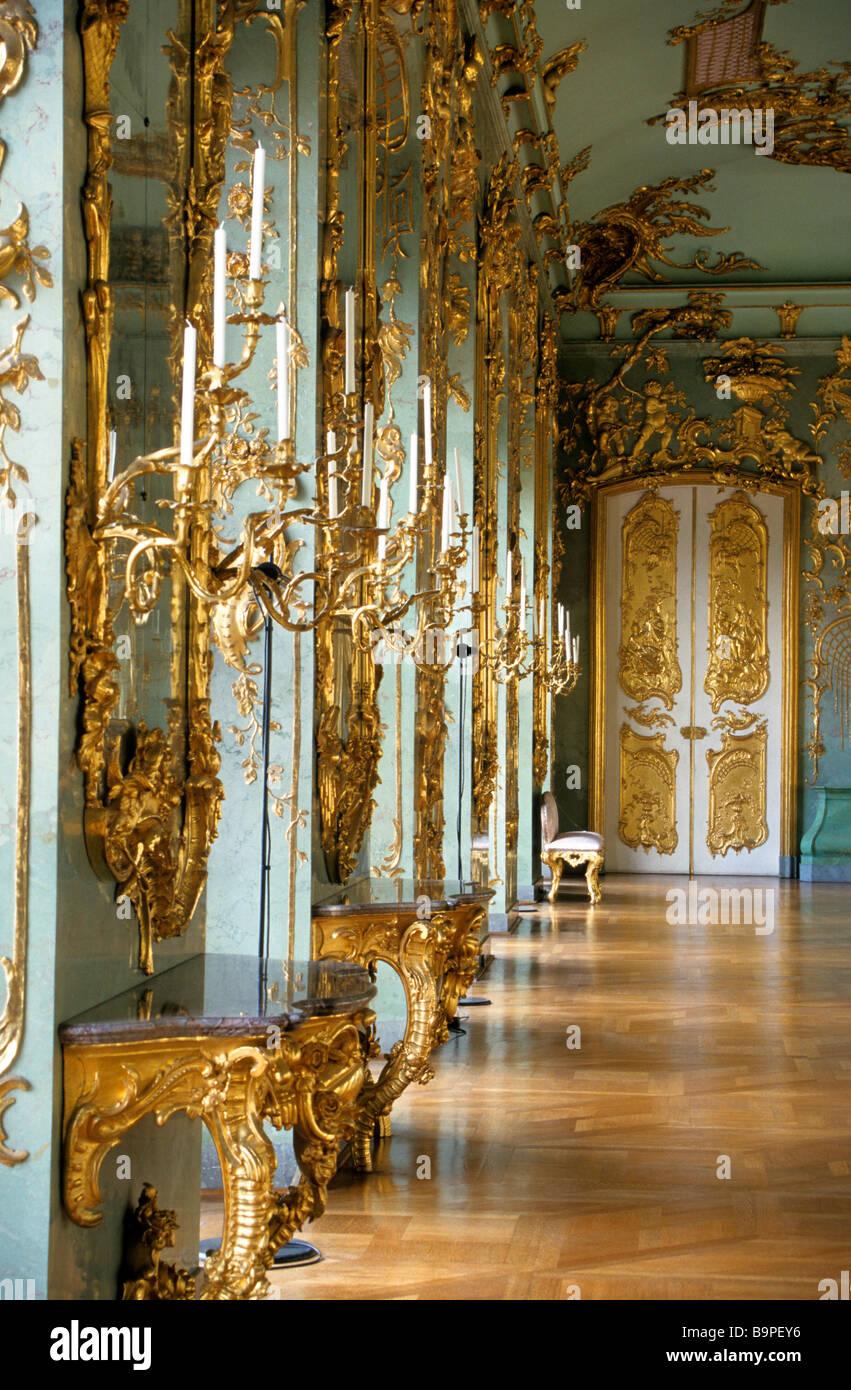 Germany Berlin Charlottenburg Palace Goldene Galerie