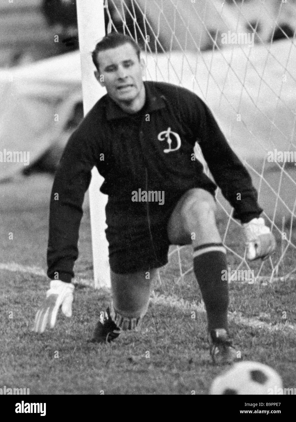 Dinamo Moscow and U S S R national football team goalkeeper Lev
