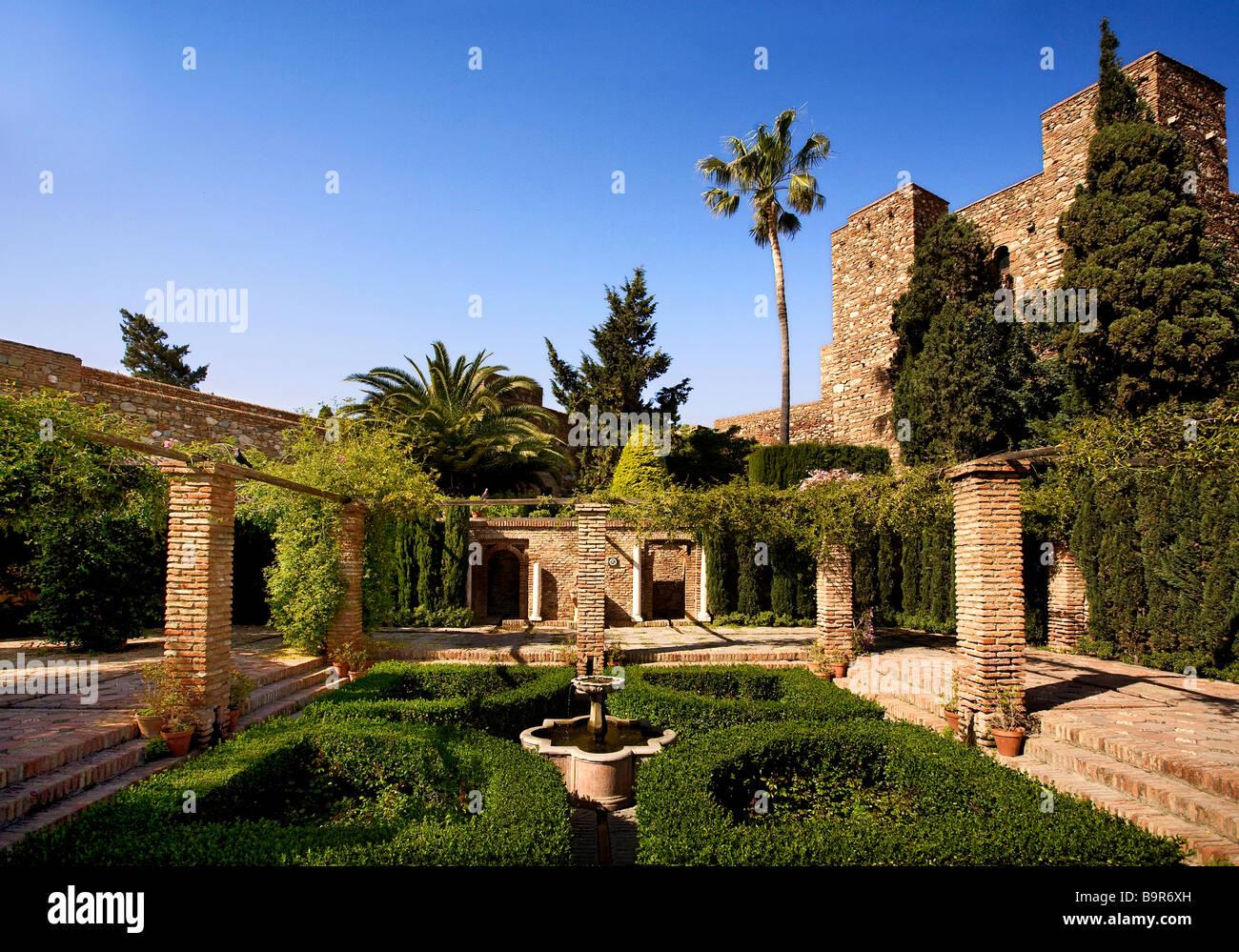 Alcazaba, Malaga Spain Stock Photo, Royalty Free Image ...