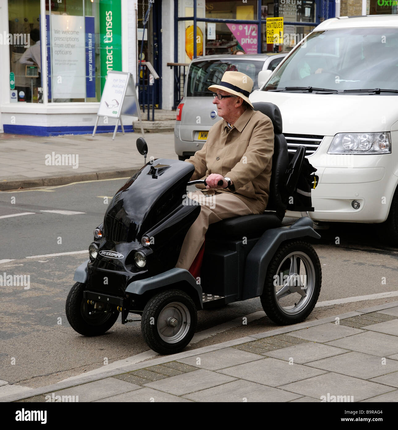 tramper a four wheeled mobility scooter manufactured by beamer