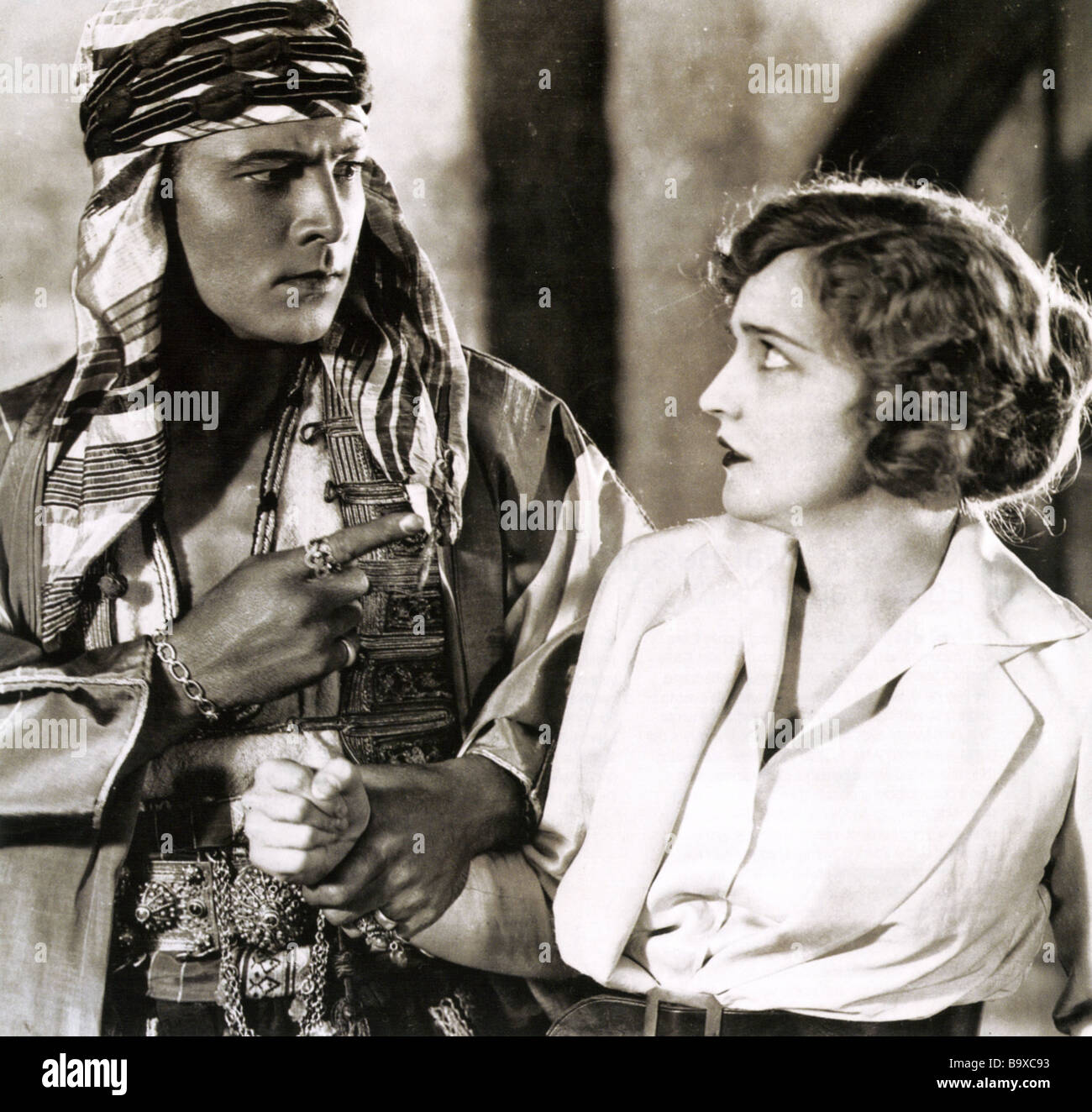 the sheik 1921 famous players film with rudolph valentino