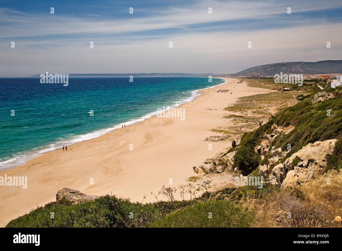 Zahara de los atunes beach in barbate costa de la luz for Piscinas naturales zahara delos atunes