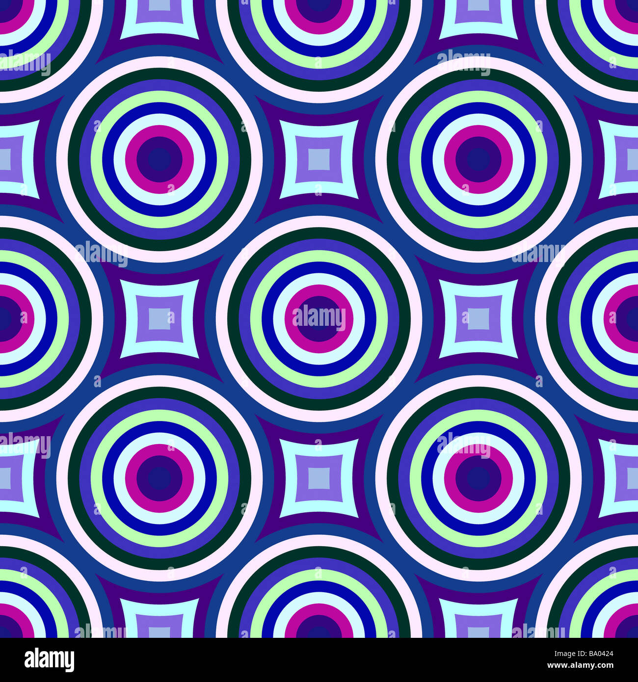 Colorful Abstract Retro Patterns Geometric Design