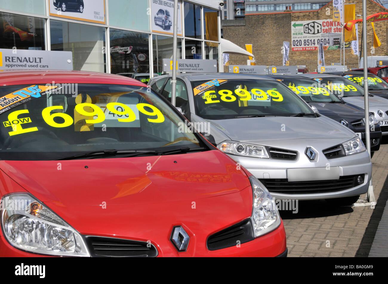 Used car dealer price
