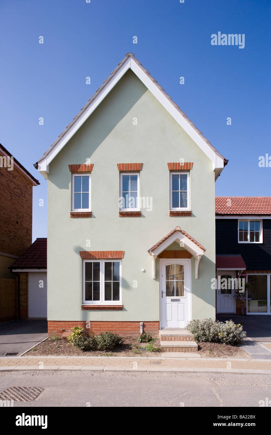 Modern houses in Kent England Stock Photo 23402734 Alamy