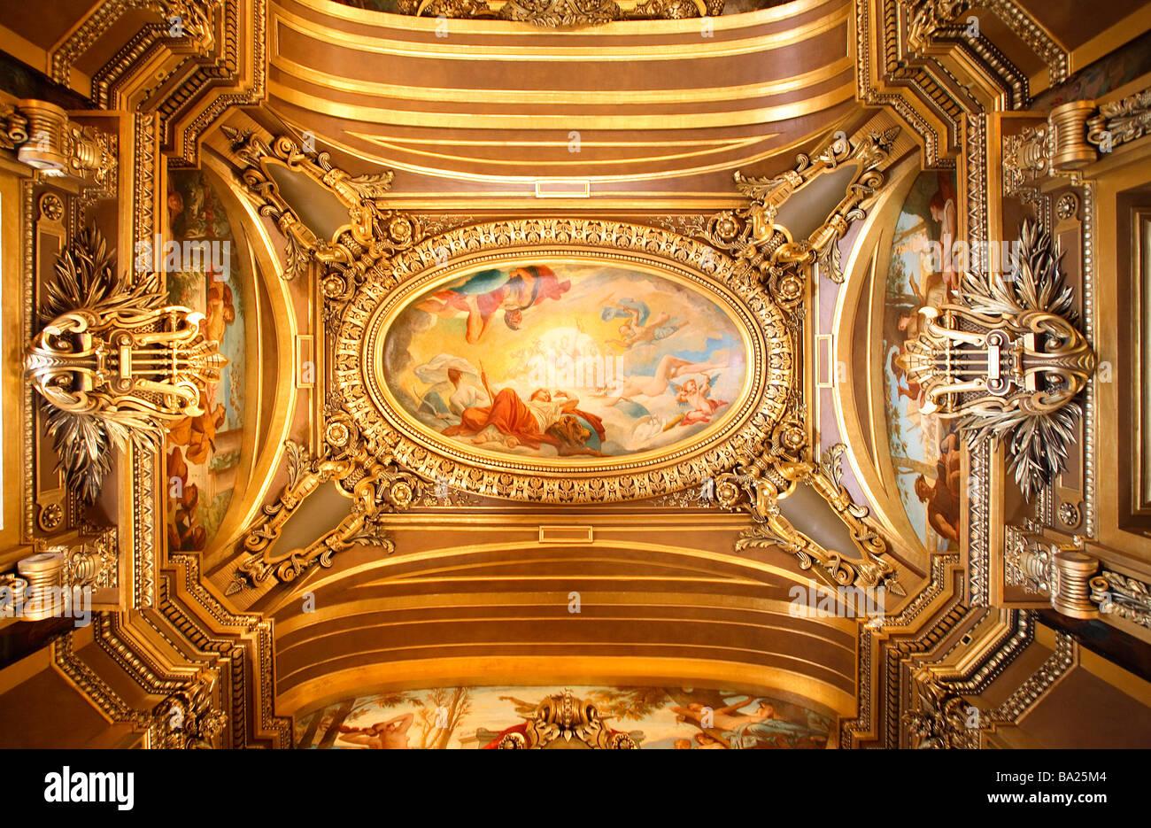 Grand Foyer Opéra Garnier : Grand foyer opera garnier paris stock photo royalty free