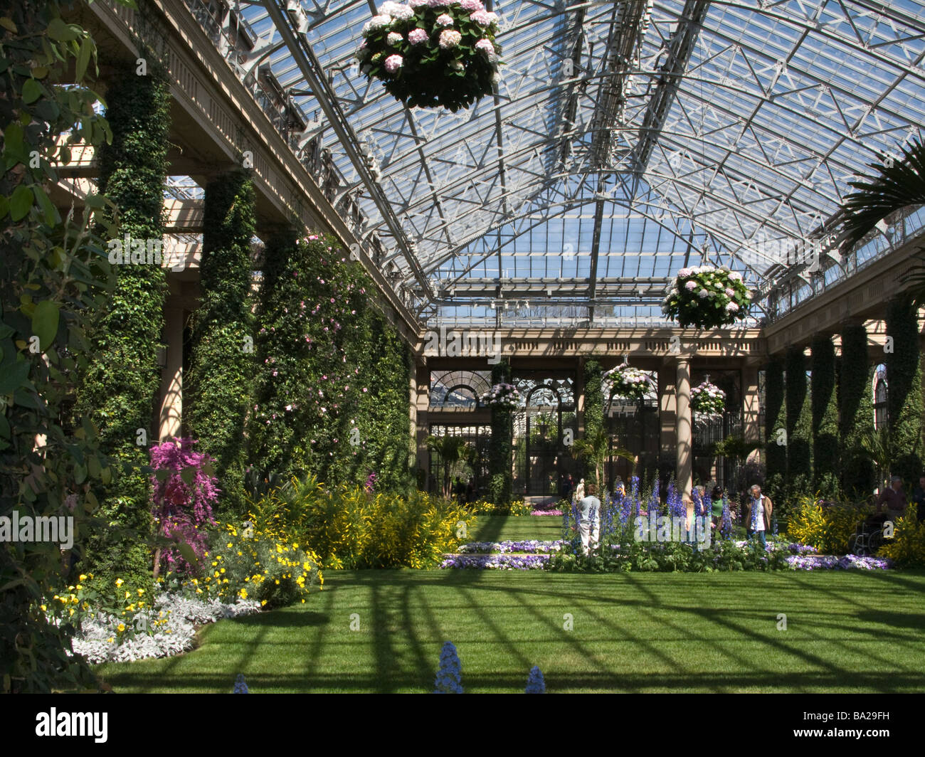 conservatory longwood botanical gardens kennett square chester