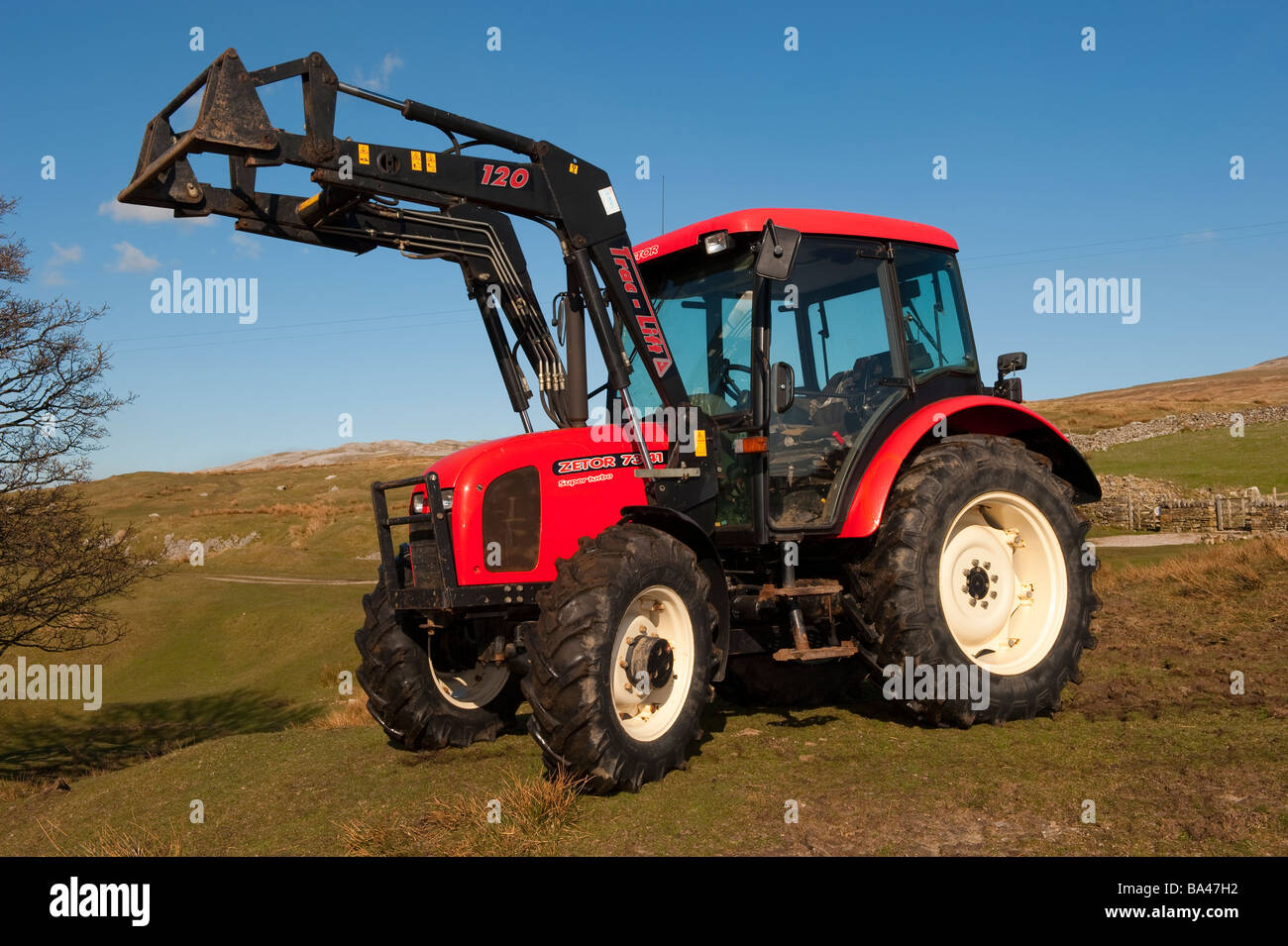 Uses Of Four Wheel Tractor : Four wheel drive zetor tractor with a front end