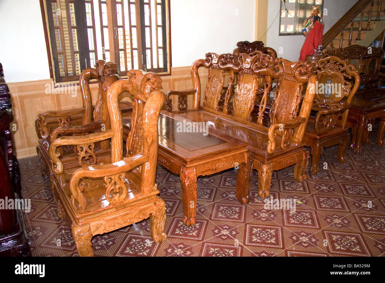 Vietnamese Furniture Factory In Dong Ha Vietnam Stock Photo Royalty Free Image 23468528 Alamy