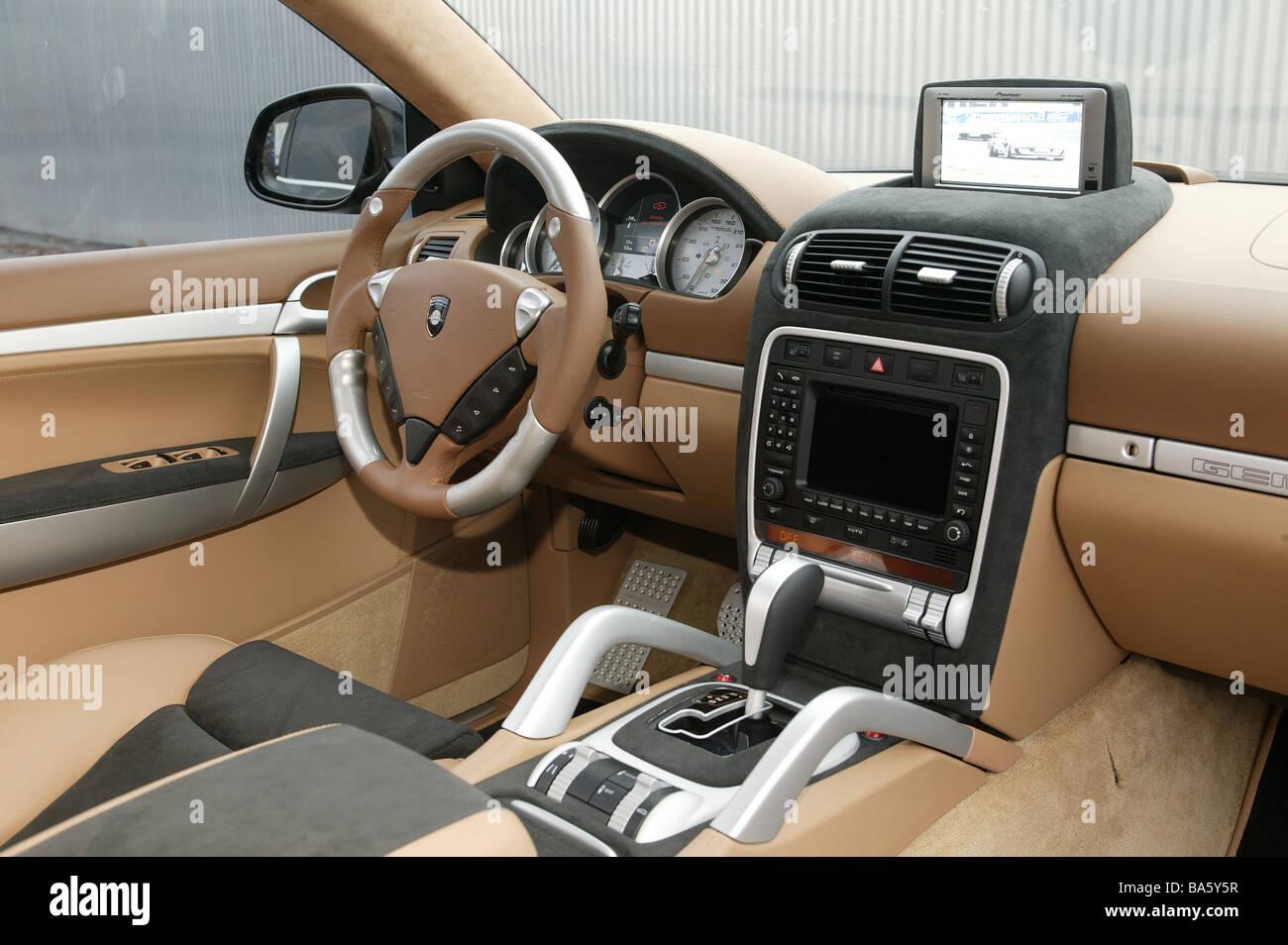 Car interior entertainment - Car Porsche Gemballa Gtr 700 Dashboard Car Entertainment Monitor No Property Release Vehicle Private Car Sport Cars Interior