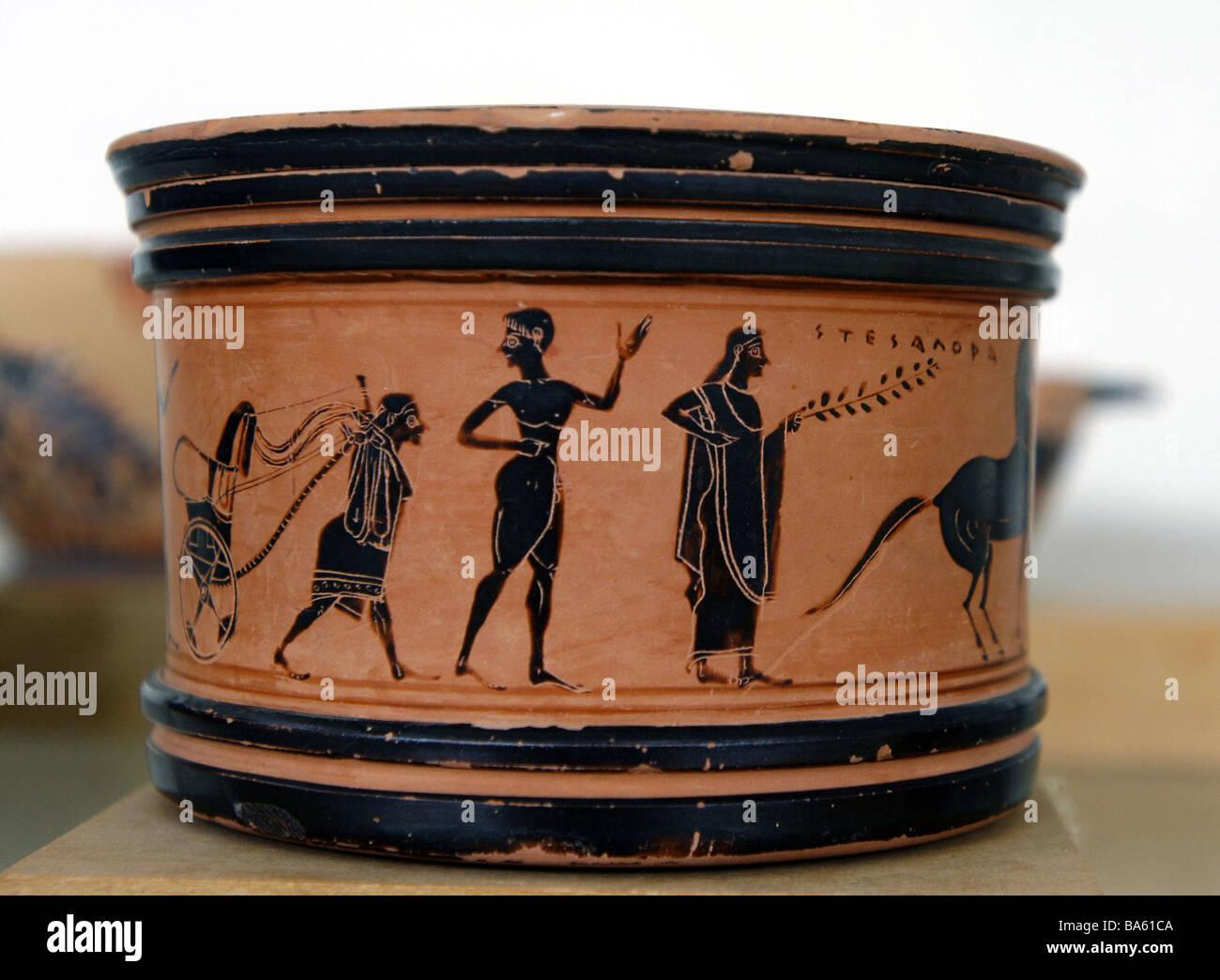 Greek vase painting stock photos greek vase painting stock greece attika varvrona museum vase painting europe sight culture exhibit exhibit antique historically art paints reviewsmspy