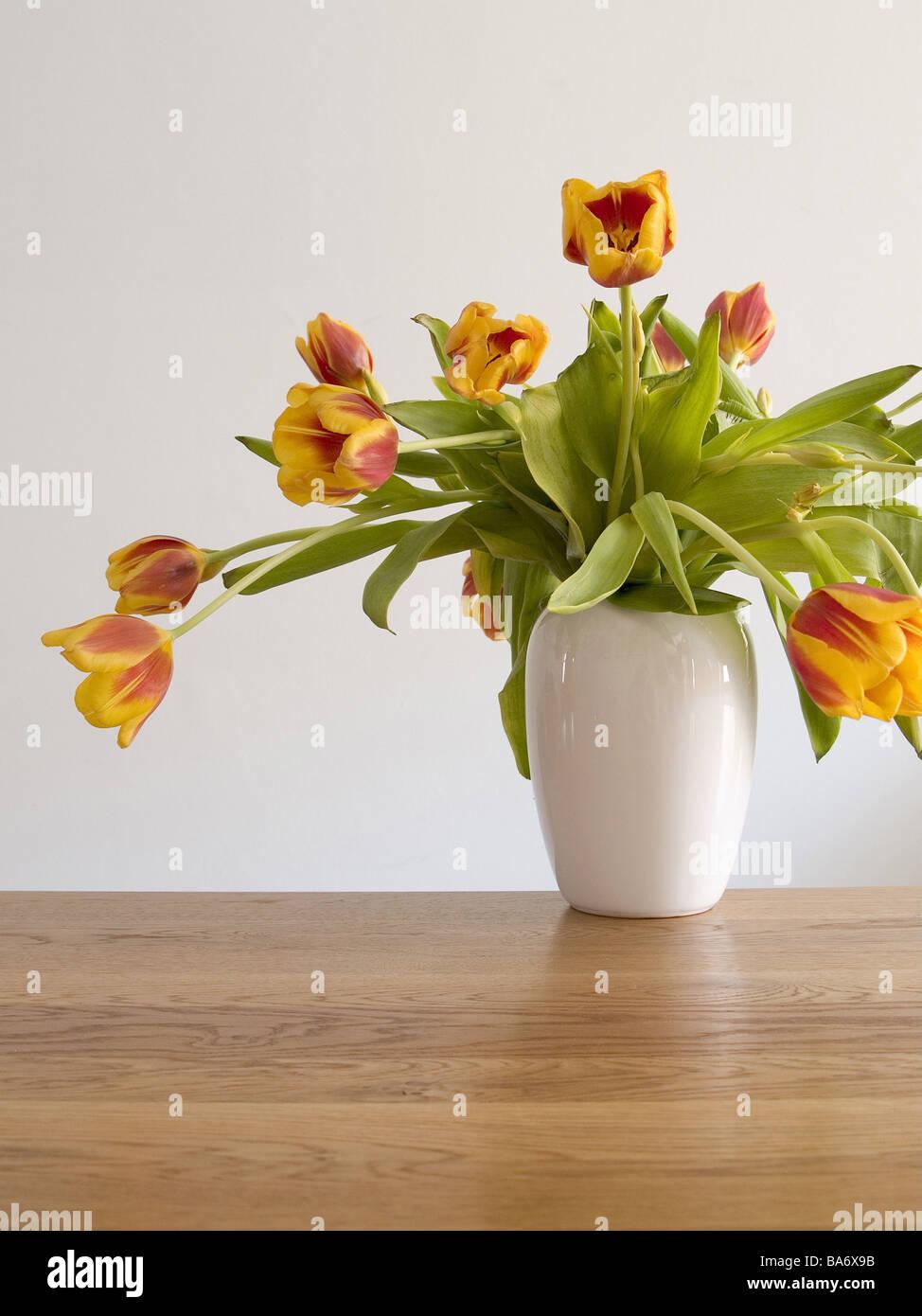 Wilts wood table flower vase tulip bouquet yellow red vase flowers wilts wood table flower vase tulip bouquet yellow red vase flowers flower bouquet cut flowers lily plants tulip blooms tulips floridaeventfo Images