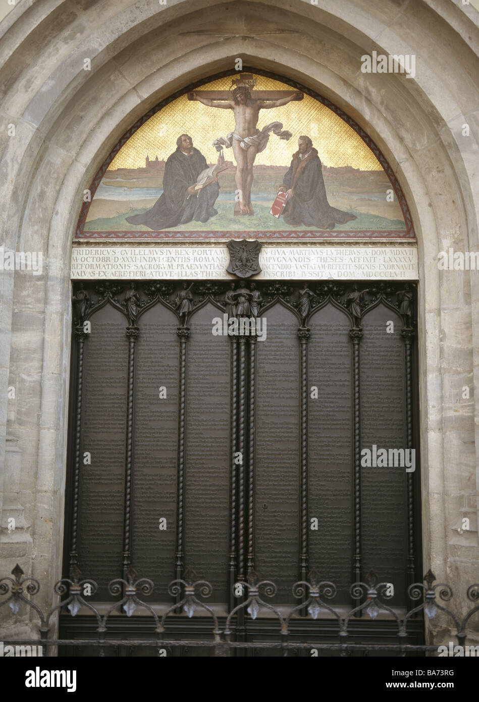 thesis on church door