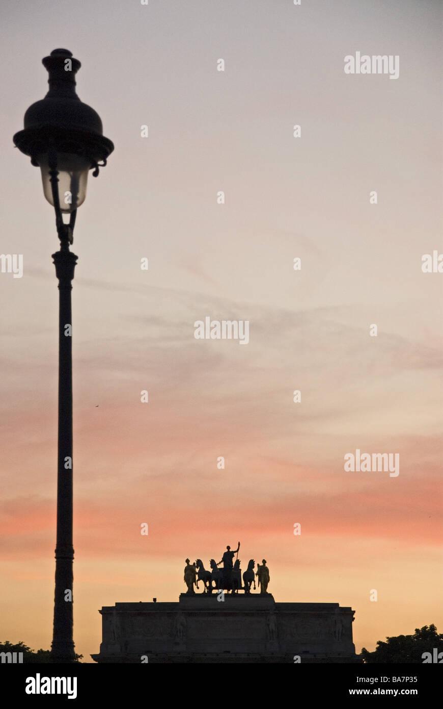 arc de triomphe place charles de gaulle paris