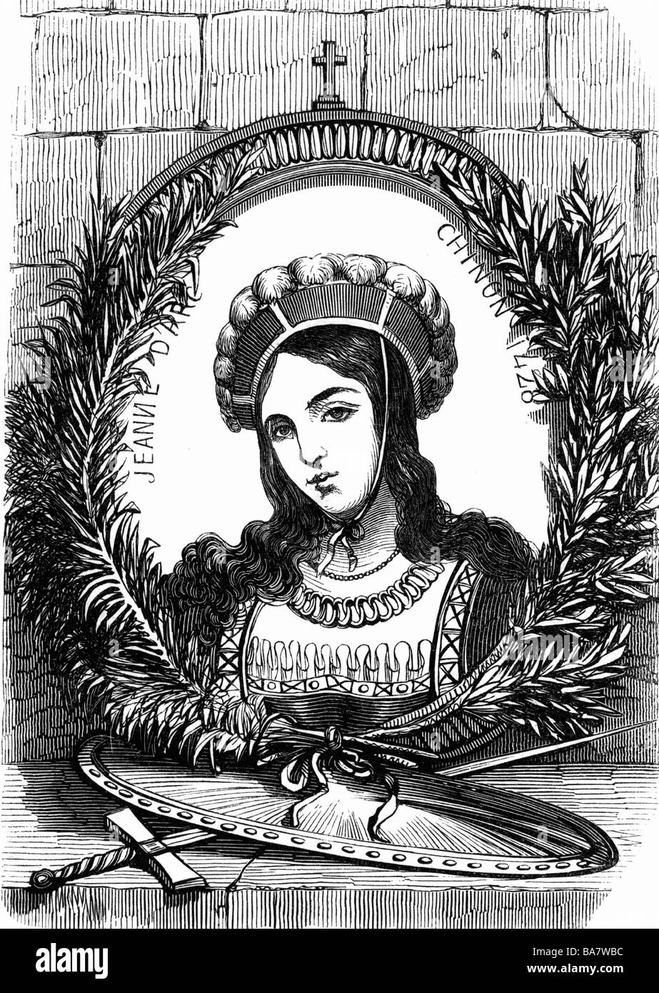 a history of joan of arc a french saint and a heroine in the hundred years French cruiser jeanne d'arc (r97) history france namesake: joan of arc: a national heroine of france and saint of the catholic church who repelled the.
